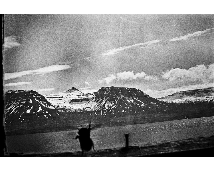 ICELAND / 05.2010Mountains of Seydisfjordur seeing from an abandoned farm. © Michal Luczak / Sputnik Photos / Anzenberger